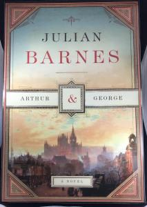 Front of Placard for Julian Barnes's Arthur & George