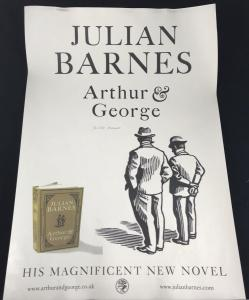 Front of Poster for Julian Barnes's Arthur & George