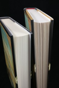 Fore Edge Comparison with First American Edition