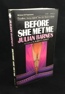Before She Met Me (McGraw-Hill, 1986): Cover