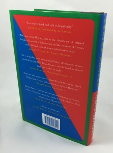 Cross Channel (Jonathan Cape, 1996): Back Cover