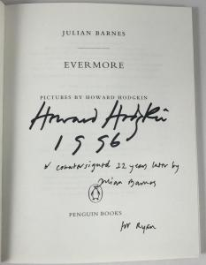 Title Page Signed by Hodgkin and Barnes
