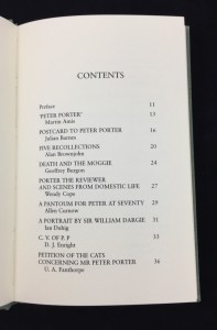 Table of Contents (recto)