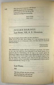 Julian Barnes Entry