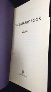 The Library Book (2012): Title Page