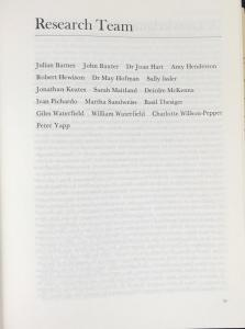 List of Contributors