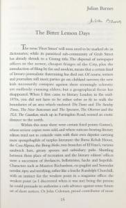 Beginning of Julian Barnes's Essay