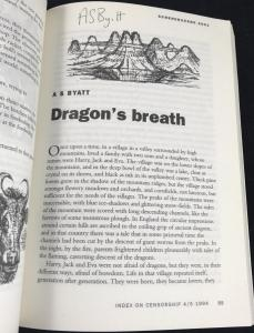 First Page of Byatt Story