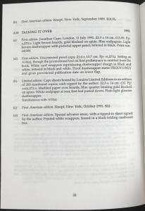 End of Barnes Bibliography