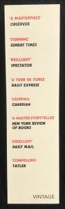 Promotional Bookmark (Back)