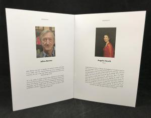 Information about Julian Barnes and Angela Hewitt