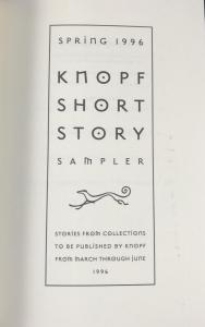 Title Page of Sampler