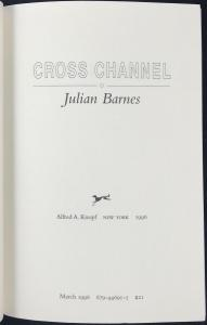 Mock Title Page of Cross Channel