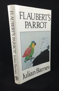 Flaubert's Parrot: Front Jacket