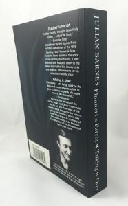 Flaubert's Parrot Talking It Over: Back Cover