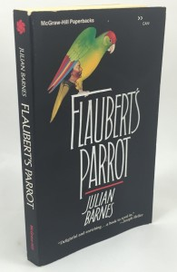 Flaubert's Parrot (McGraw-Hill, 1985): Cover