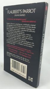 Flaubert's Parrot (McGraw-Hill, 1985): Back Cover