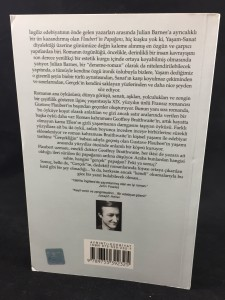 Flaubert'in Papağanı (2001; Turkish): Back Cover
