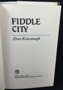 Fiddle City (Cape, 1981): Title Page