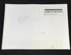 Going to the Dogs - Uncorrected Proof