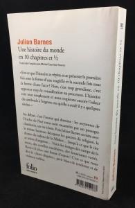 Une histoire de monde en 10 chapitres 1/2 (Mercure de France, 2011; French): Back Cover