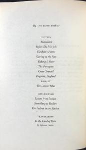 List of Titles