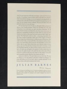 Broadside by Julian Barnes