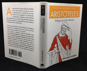 Conversaciones con Aristóteles (Spanish): Full Cover