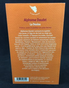 La Doulou (Mercure de France, 2007): Back Cover