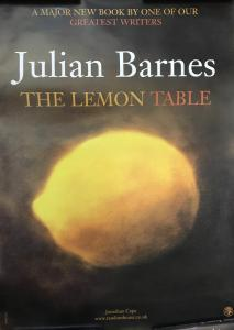 Poster for The Lemon Table by Julian Barnes