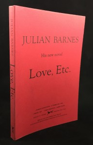 Love, etc. Red Proof (Knopf, 2001): Cover