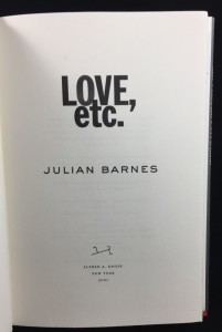 Love, etc. (Knopf, 2001): Title Page
