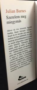 Szerelem meg miegymás (Ulpius-ház, 2001; Hungarian): Front Flap