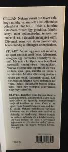 Szerelem meg miegymás (Ulpius-ház, 2001; Hungarian): Back Flap