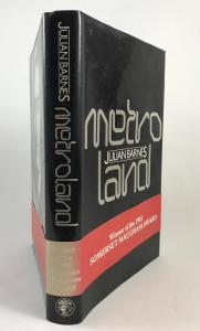 Metroland (Jonathan Cape, 1980): Spine Jacket with Promotional Band