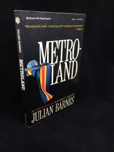Metroland (McGraw-Hill, 1987): Cover