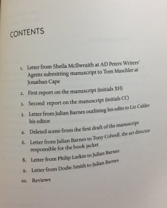 Archive Table of Contents