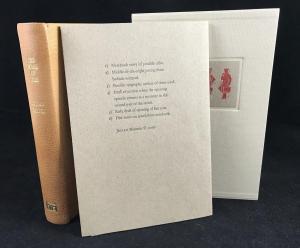 Facsimile Folder with Book