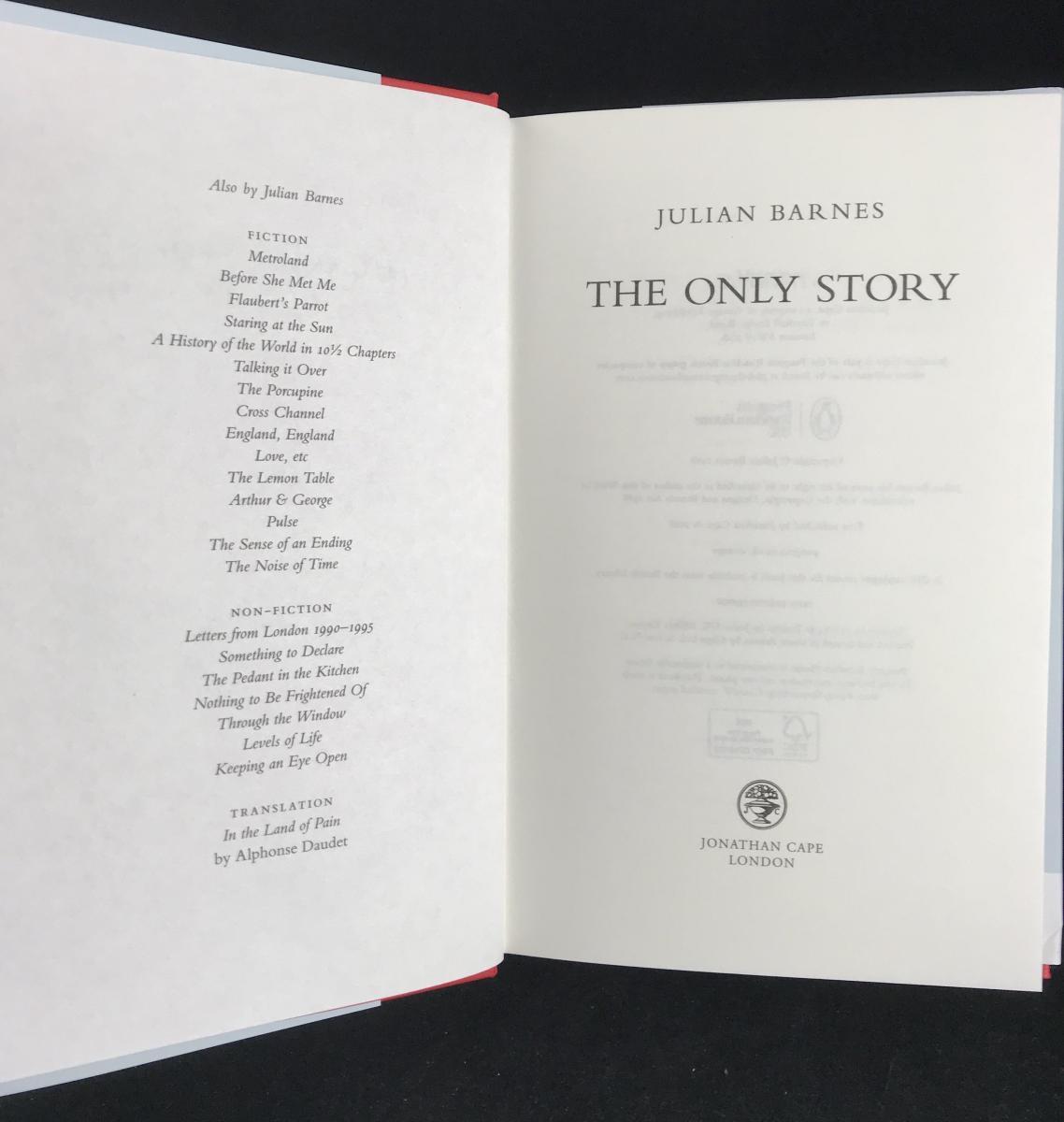 Hermione Lee – Julian Barnes Bibliography