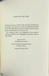 A Note on the Type