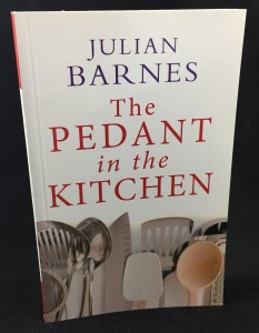 The Pedant in the Kitchen (AudioGO, 2012; Large Print): Cover