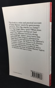 The Pedant in the Kitchen (AudioGO, 2012; Large Print): Back Cover