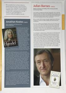 Julian Barnes Contribution