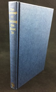 Putting the Boot In (Jonathan Cape, 1985): Binding