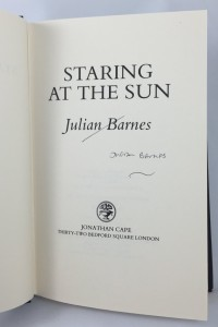 Staring at the Sun (Jonathan Cape, 1986): Title Page