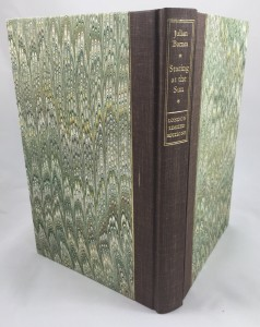 Staring at the Sun (London Limited Editions, 1986): Back and Spine