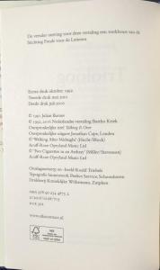 Copyright Page Trioloog