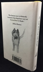The Truth about Dogs by Volker Kriegel (Bloomsbury, 1988): Back Cover